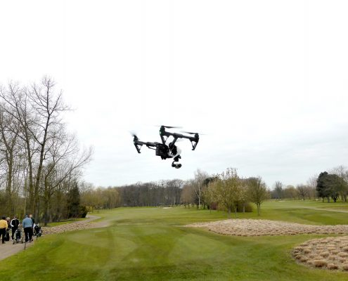 3d opname drone Ternesse Golf & Country Club